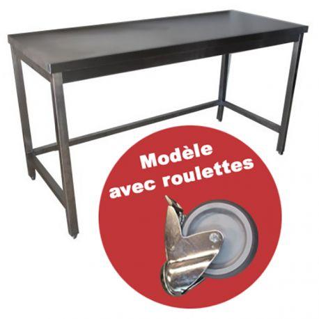 Quelles astuces pour avoir des belles tables inox professionnelles